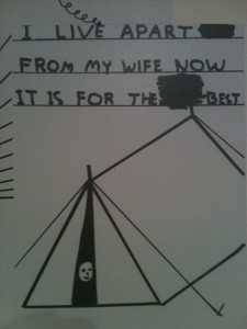 David Shrigley images at Manchester Cornerhouse